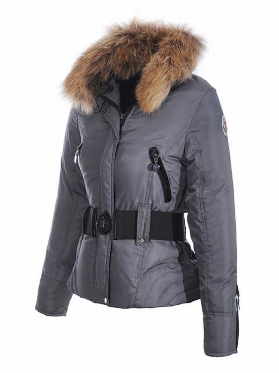Moncler Jacket W-01 Women Jacket Grey